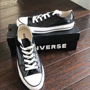 Converse patent leather